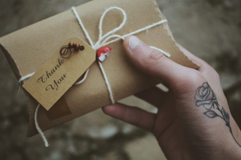 gift in a small box